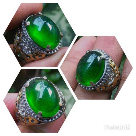 jual cincin batu akik zamrud kalimantan di lapak yuqi galery dicky1991