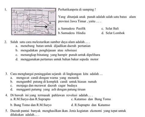 Soal pkn kelas 8 semester 2. Soal Ips Kelas 8 Beserta Kunci Jawaban - Bali Teacher