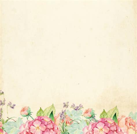 floral watercolor vintage border  stock photo public