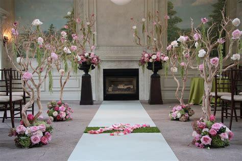 Indoor Ceremony Decor Wedding Ceremony Photos By Rachel A