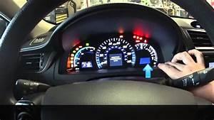 Camry Hybrid Maintenance Light Reset