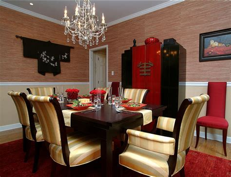 Serene And Practical 40 Asianstyle Dining Rooms. Basement Wall Decor. Cigar Room Air Filtration System. Decorate My Home. Tall Living Room Lamps. Decorative Wall Plaques. Arrangement For Small Living Room. Tropical Decor. Curtains For Baby Room