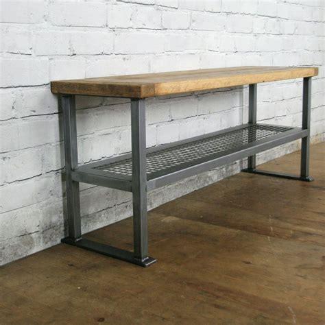 Industrial Rustic Hallway Shoe Storage Rack Bench *made To