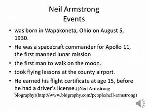 Neil Armstrong Timeline of His Life (page 4) - Pics about ...