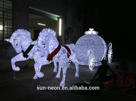 outdoor christmas decoration horse carriage buy