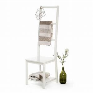 Handtuchhalter Weiß Metall : handtuchhalter stuhl kiefernholz wei ca b 45 x h 135 x t 45 cm bad pinterest ~ Markanthonyermac.com Haus und Dekorationen