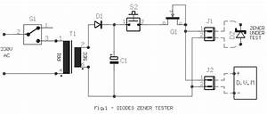 Diode Zener Tester Circuit Diagram And Instructions