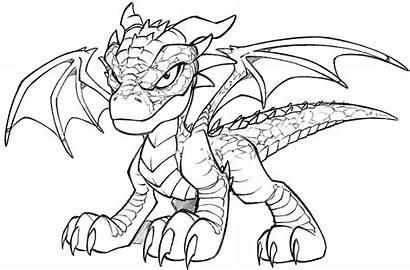 Dragon Desenho Coloring Tudodesenhos Printable Colouring Dragons