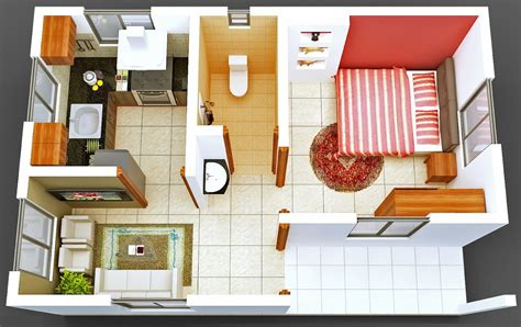1 bedroom house plans one bedroom tiny house interior design ideas