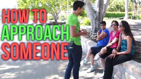 How To Approach Someone On The Street! Real Life Advice With Jay Jay! Youtube
