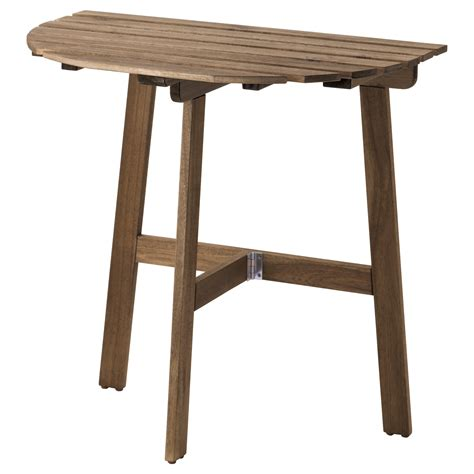 folding side table ikea askholmen table for wall outdoor folding grey brown