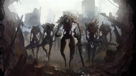 Permalink to Background Fantasy Robot