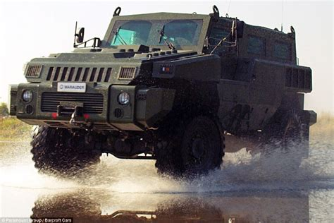 paramount marauder is this the world 39 s most unstoppable vehicle 39 marauder