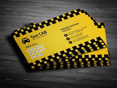 taxi cab service business card  mehedihassan