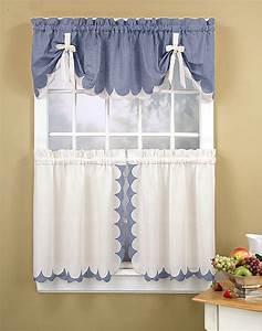 Kitchen Curtain Designs Tie Up : Ideal Kitchen Curtain