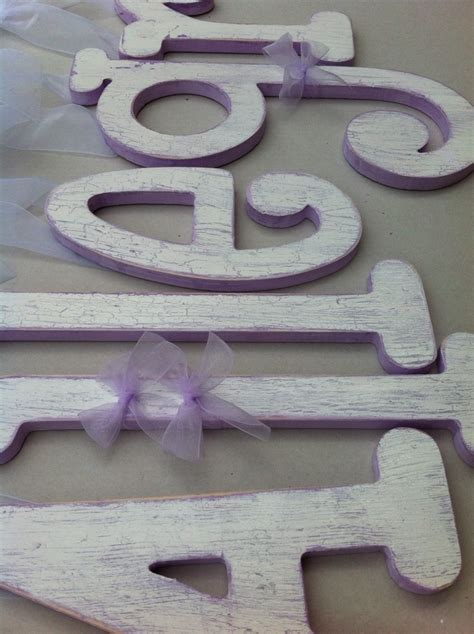 distressed wood letters the 164 best images about custom painted wooden