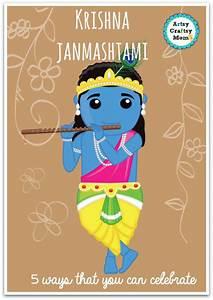 Make Your Own Birth Chart 5 Activities To Do On Krishna Janmashtami Artsycraftsymom
