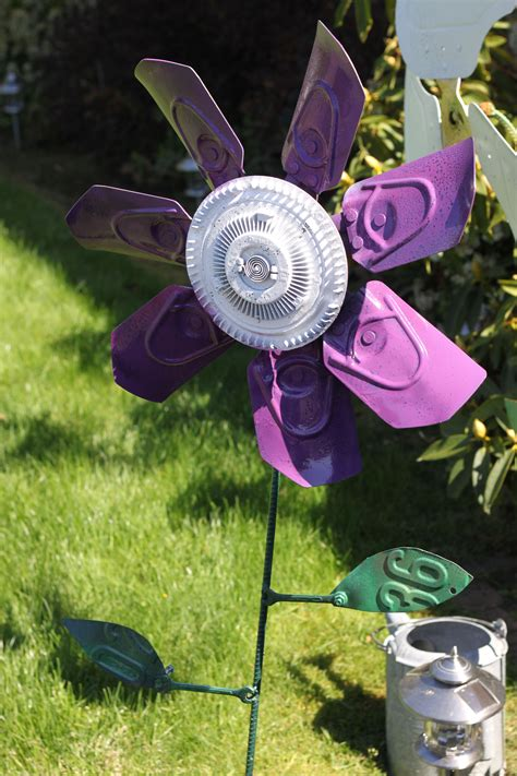 metal flower       truck clutch fan