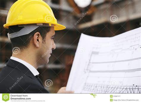 architect  construction site   building plans
