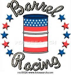 Barrel Racing Clip Art
