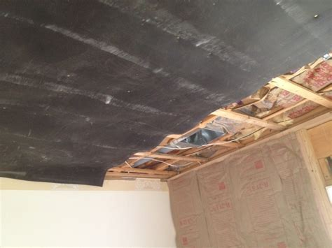 Residential Home Soundproofing, Living Room Ceiling