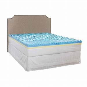 broyhill broyhill twin xl size 4 in gel mattress topper With best twin xl mattress pad