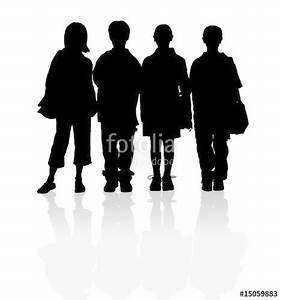 School Children Silhouette | www.pixshark.com - Images ...