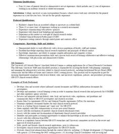 clinical research experience resume a starter s guide to design clinical research coordinator crc resume dnasys academy