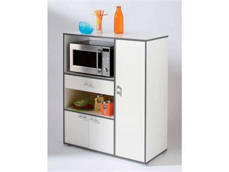 meuble de cuisine pour micro ondes meuble micro ondes et desserte pas cher promo et soldes la deco