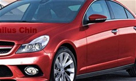 rendered speculation mercedes cle four door coupe