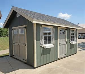 amish ez fit riverside shed kit choose size
