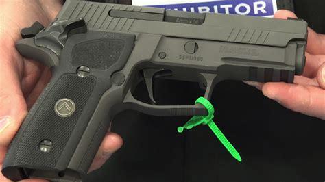 Sig Sauer P229 Legion Compact Sao Pistol Youtube