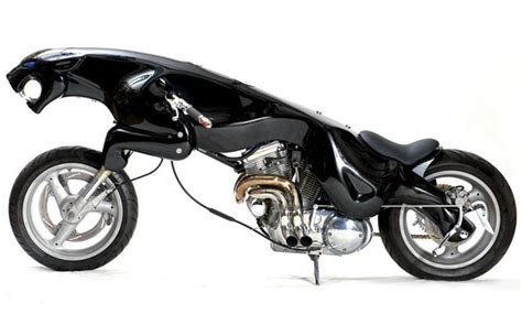 Cool Motorcycle Based On Famous Logo