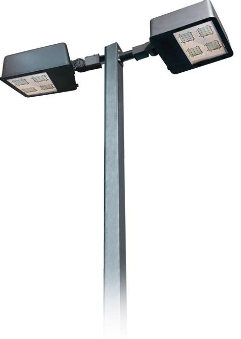 led pole lights pole light df led 7750 headed powder