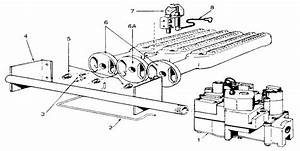 Gas Burners And Manifold Diagram  U0026 Parts List For Model
