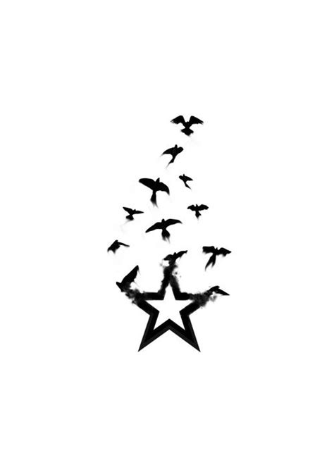 Star And Heart Tattoo Designs For Women - ClipArt Best | Tattoo designs, Bird tattoo wrist, Star