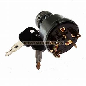 5 Terminal Wire Ignition Starter Switch 3e 2 Keys