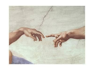 le si鑒e de the creation of adam c 1510 detail giclee print by michelangelo buonarroti at com