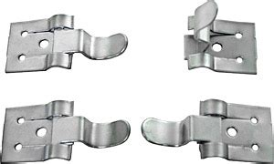 zinc plated screen storm window snap fasteners house  antique hardware