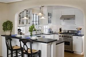 Cute, white kitchen