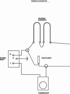 Water Heater And Thermostat Wiring Diagram For Elements