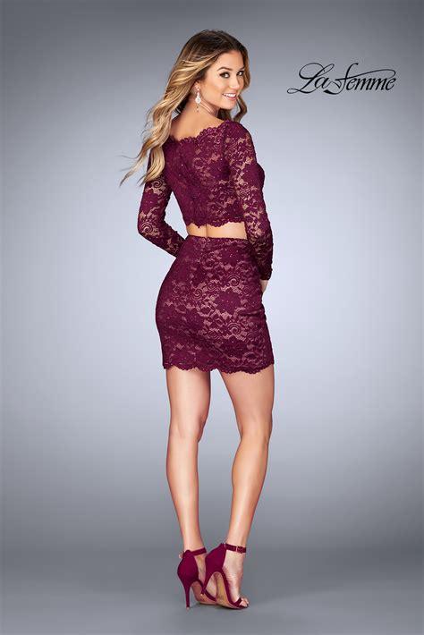 la femme short dresses style 25301 la femme