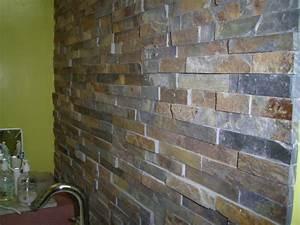 Mur En Brique Intérieur : pose d 39 un miroir sur mur en brique ~ Melissatoandfro.com Idées de Décoration