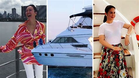 celebrities   multi million peso yachts