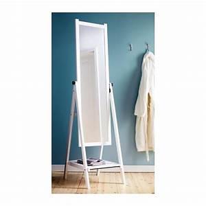 Ikea Miroir Sur Pied : isfjorden staande spiegel witgebeitst ikea ~ Dode.kayakingforconservation.com Idées de Décoration