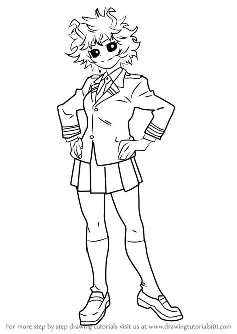Bunnicula Kleurplaat by Learn How To Draw Mina Ashido From Boku No Academia