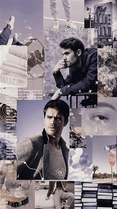 Diaries Vampire Aesthetic Wallpapers Wesley Paul Collage