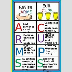 Revise And Edit Arms Vs Cups By Teaching With Miss G Tpt