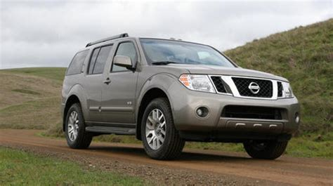 enhanced  roading  big power  nissan pathfinder