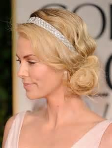 flapper headband diy 20 účesů pro polodlouhé vlasy loshairos